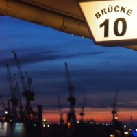 Brücke 10 Schild